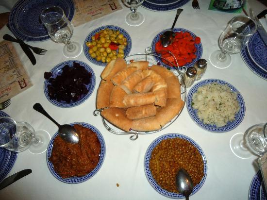 Palais de Fes : comida
