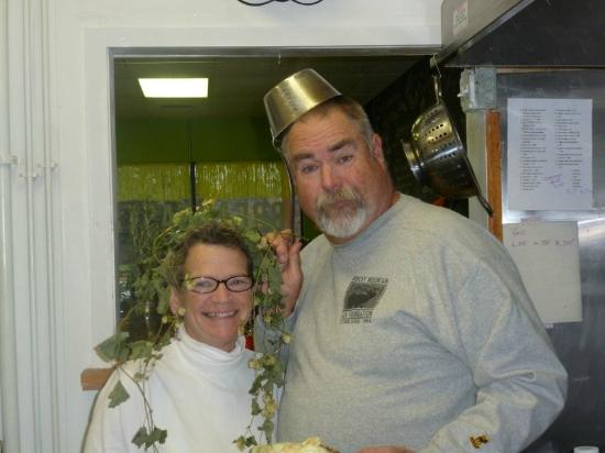 Heidi's Kitchen Cafe : Robbie and I