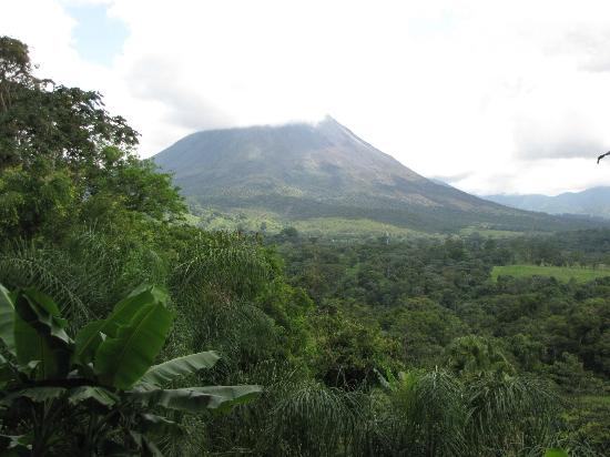 Lost Iguana Resort & Spa: View of the volcano-Arenal from our room