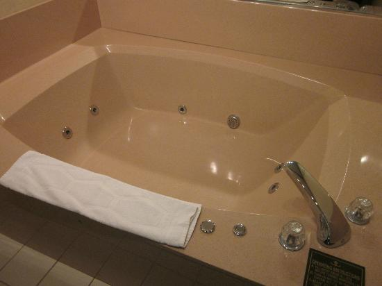 Hampton Inn Portage: An amazingly roomy whirlpool