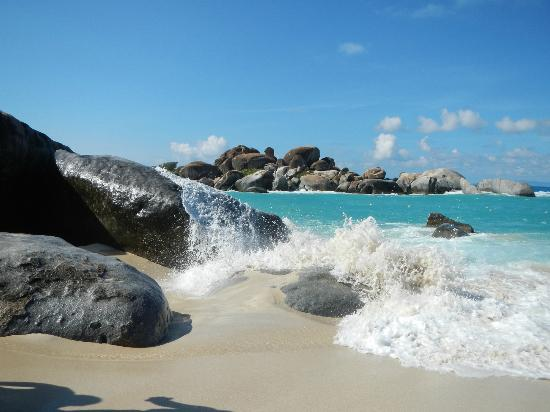 Virgin Gorda Peak: the baths at virgin gorda!