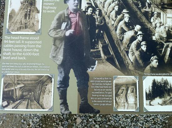 Empire Mine State Historic Park: Plenty of pictorial historical information