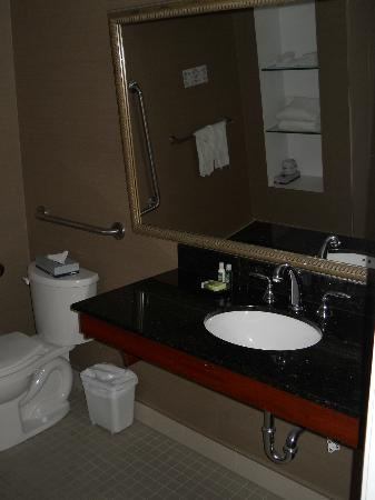Albert at Bay Suite Hotel: bathroom counter