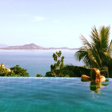 Ban Sua Samui: View from the pool