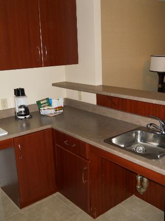 Albert at Bay Suite Hotel: kitchen counter