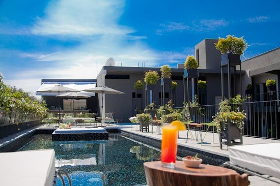 Flor de Mayo Hotel and Restaurant: Rooftop Pool