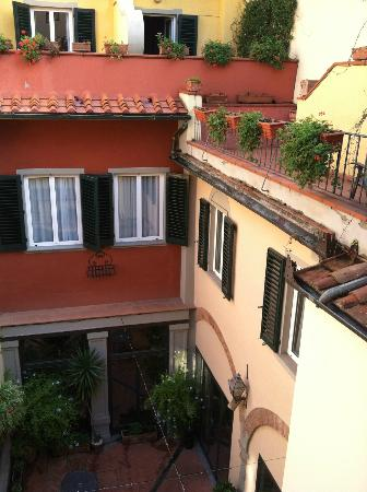 Rivoli Boutique Hotel: view from room