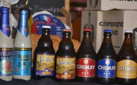 The French Place Bistro: A few of the Belgian beers available