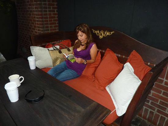 Hudson Hotel New York: Relax reading area