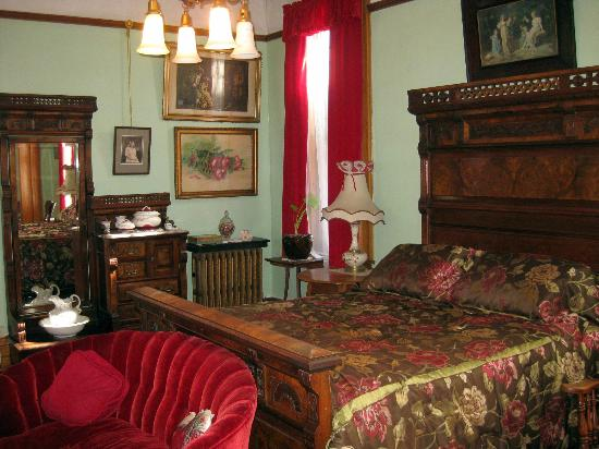 Copper King Mansion: Nice second bedroom