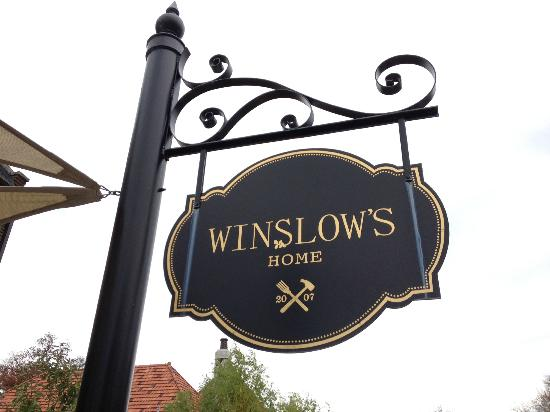 Winslow's Home: Sign