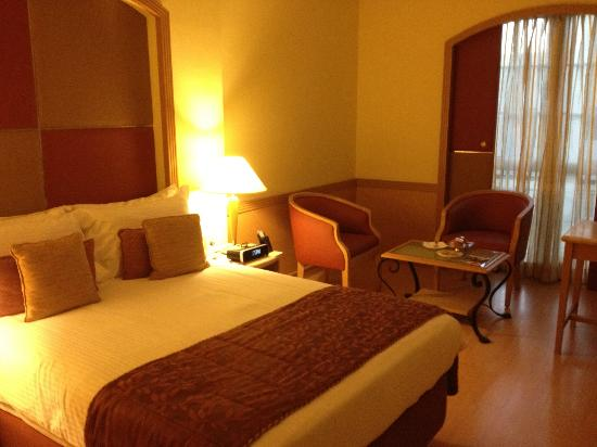 The Residency Towers: Comfortable room, well appointed