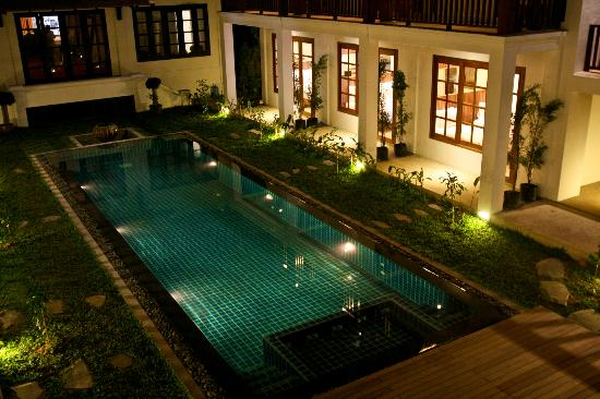 Le Sen Boutique Hotel: All rooms are facing the Pool