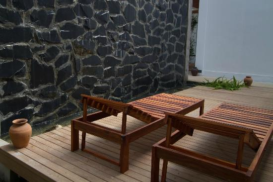 Le Sen Boutique Hotel: Private Terrace for Villa
