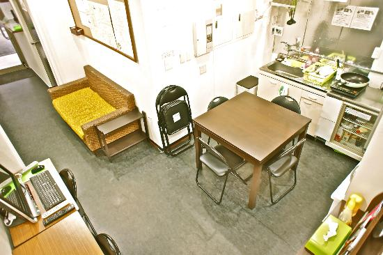 Hostel Base Point Osaka : shared space