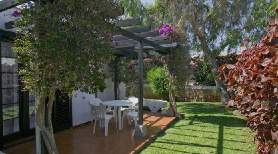 Los Cardones: private garden