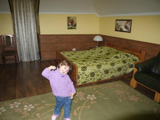 Sofia Hotel-Restaurant: Our room