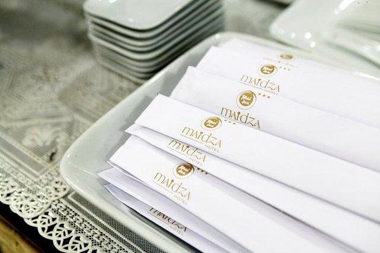 Maidza Hotel: Restaurant