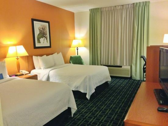 Fairfield Inn Asheville Airport: Double Room