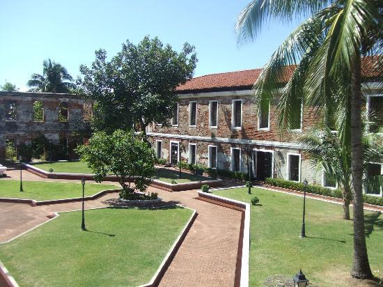 Fort Pilar : view from the balcony