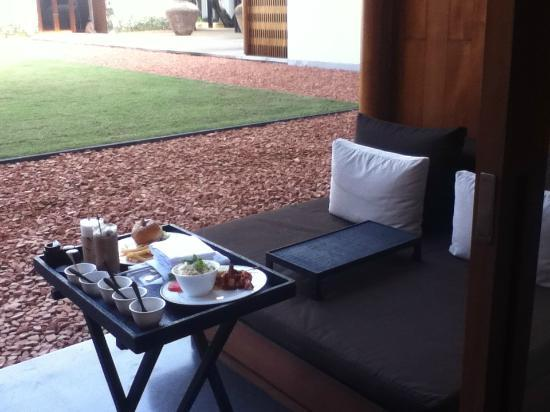 Anantara Chiang Mai Resort: room service is good