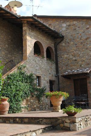 Casale di Villore: patio