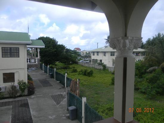 Hotel Laurena: view from front veranda