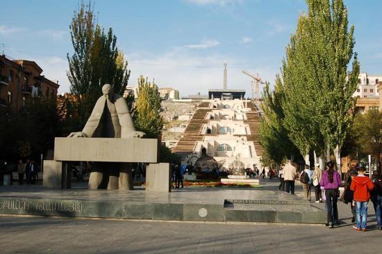 Yerevan Cascade: The Cascade