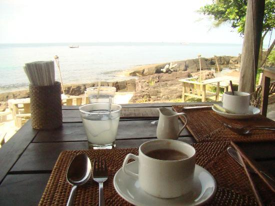 Mango Bay Resort: Breafast in the morning