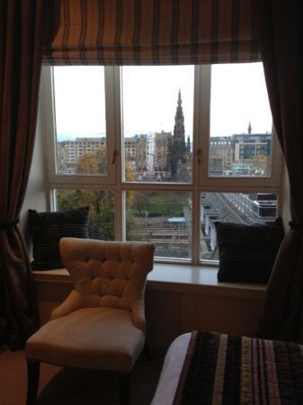 Fraser Suites Edinburgh: very nice view