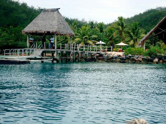 Likuliku Lagoon Resort: Approaching Likuliku
