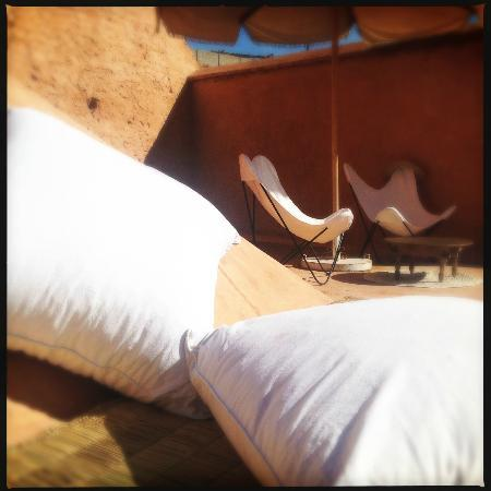 Le Riad Berbere: Les terrasses