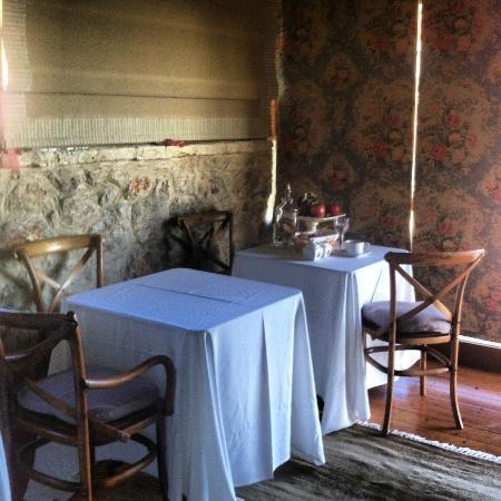 Agiannorema Guesthouse: χωρος πρωινου