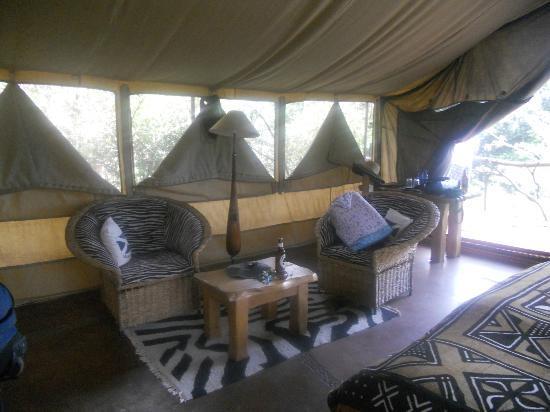 Olumara Camp: Tent