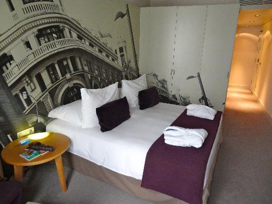 Radisson Blu Hotel, Madrid Prado: Ma chambre