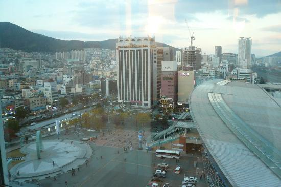 Toyoko Inn Busan No.1: view from the room