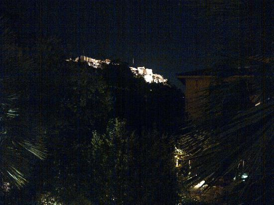 Electra Palace Athens: View to the Acropolis from our std room!