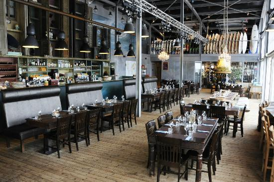 Beachclub Natural High: Restaurant