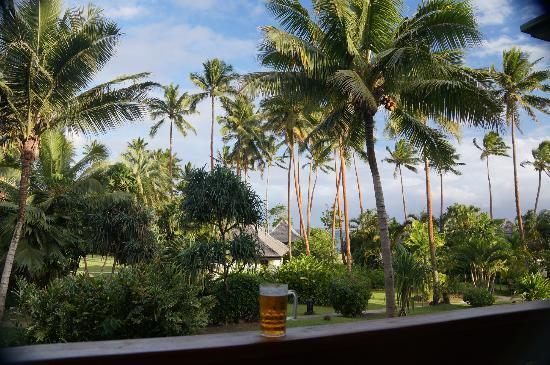 Naviti Resort: view from our room