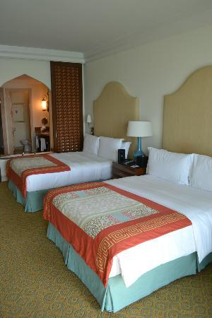 Atlantis, The Palm: nice room on the 17th floor