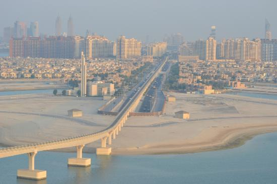Atlantis, The Palm: view from the 17th floor