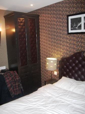 Hotel du Prince Eugene: Bedroom on 5th floor