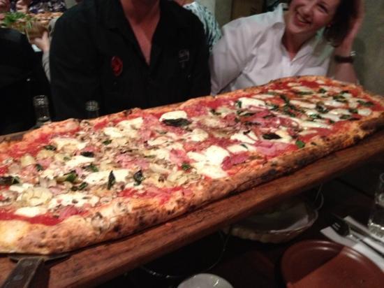 Lane Cove, Australia: metre long pizza