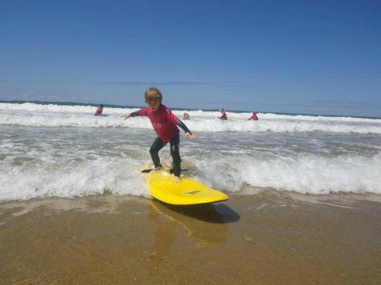 The Surf Club Cornwall: Surfing!