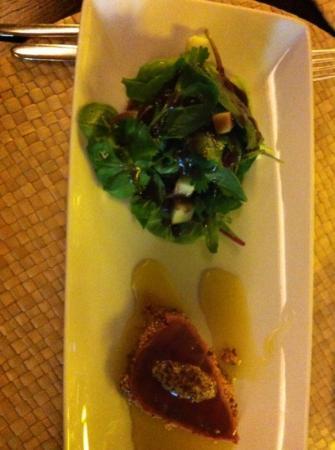 Artemisia : thon rouge et saladine