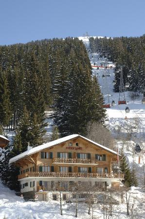 Mont Gele Verbier : Hotel Mont Gele on the Piste