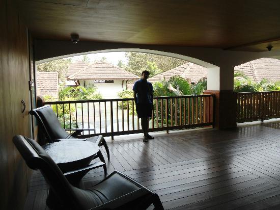 Alila Diwa Goa: verandah