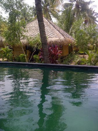 Rinjani Beach Eco Resort: My bungalow