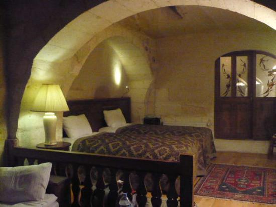 Fresco Cave Suites/Cappadocia: Part of our room