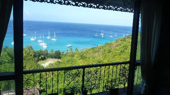 Firefly Hotel Mustique: View from the room